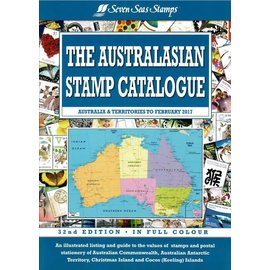 Seven Seas The Australasian Stamp Catalogue Australia & Territories to February 2017