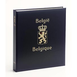 Davo Luxury album Belgium no Number railway stamps