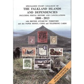 Heijtz Specialised Stamp Catalogue of The Falkland Islands and Dependencies 1800-2013