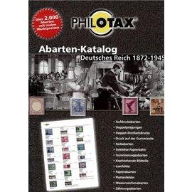 Philotax Abarten-Katalog Deutsches Reich 1872-1945