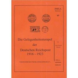 Infla Die Gelegenheitsstempel der Deutschen Reichspost 1916-1923