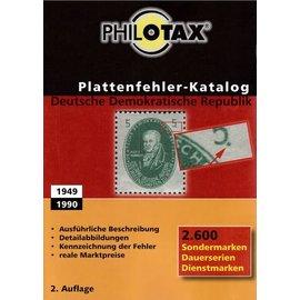 Philotax Plattenfehler-Katalog Deutsche Demokratische Republik
