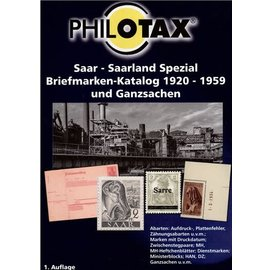 Philotax Saar - Saarland Spezial Briefmarken-Katalog 1920-1959