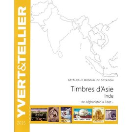 Yvert & Tellier Timbres d'Asie Inde - de Afghanistan à Tibet