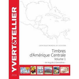Yvert & Tellier Timbres d'Amerique Centrale 1 2016