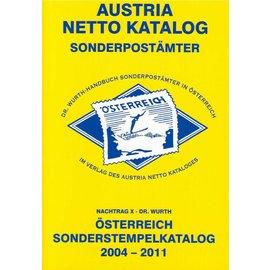 ANK Österreich Sonderstempel 2004-2011