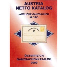 ANK Österreich Ganzsachenkatalog 2009 - Amtliche Ganzsachen ab 1861