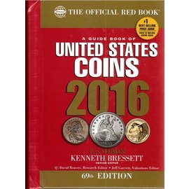 Whitman The Official Redbook United States Coins 2016