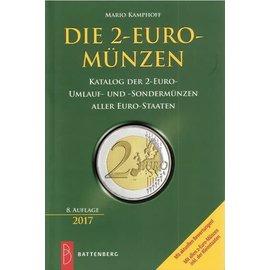 Battenberg Die 2-Euro-Münzen - Katalog der 2-Euro-Umlauf- und -Sondermünzen aller Euro-Staaten