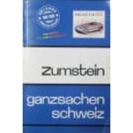 Zumstein Zwitserland Postwaardestukken 2009
