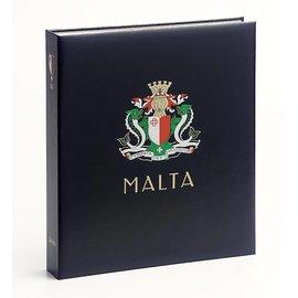 Davo Luxus Album Malta I 1860-1974