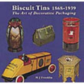 New Cavendish Biscuit Tins 1868-1939