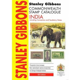 Gibbons Stamp Catalogue India (Including Convention and Feudatory States)