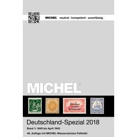 Michel Deutschland-Spezial 2018 Band 1: 1849 bis April 1945