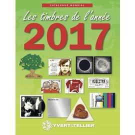 Yvert & Tellier Les timbres de l'année 2017