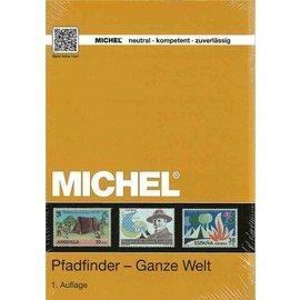 Michel Pfadfinder - Ganze Welt - Padvinders op postzegels