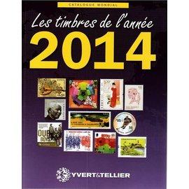Yvert & Tellier Les timbres de l'année 2014