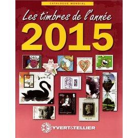 Yvert & Tellier Les timbres de l'année 2015