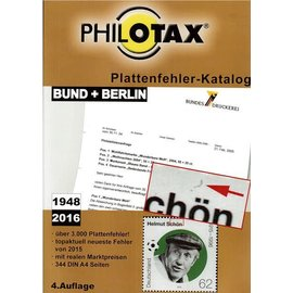 Philotax Plattenfehler Bund + Berlin 1948-2016