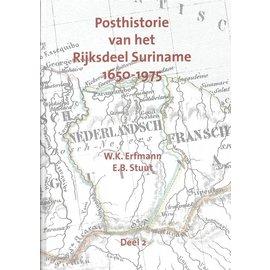 Po & Po Posthistorie van het RijksVolume Suriname 1650-1975 Deel 2