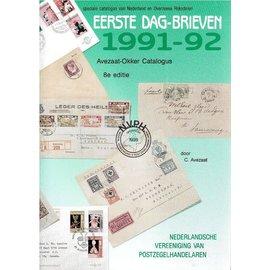 NVPH Eerste Dag-Brieven 1991-92