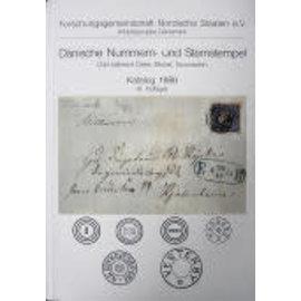 Nordische Staaten Dänische Nummern- und Sternstempel