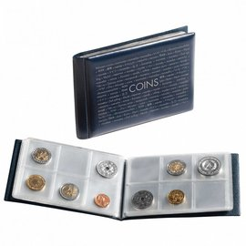Leuchtturm Route coin album pocket size 48 coins