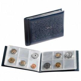 Leuchtturm Route coin album pocket size 48 coins