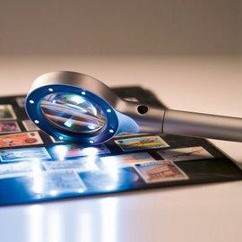 Leuchtturm LED illuminated magnifier 2,5x magnifying