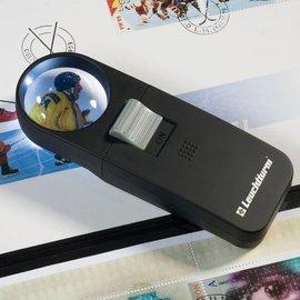 Leuchtturm LU 33 LED illuminated pocketmagnifier 7x magnifying