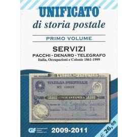 CIF Unificato di storia postale Primo Volume Servizi: Pacchi · Denaro · Telegrafo 2009-2011