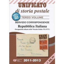 CIF Unificato di storia postale Terzo Volume Servizio Corrispondenze Repubblica Italiana
