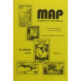 ATA Map Stamps of the World