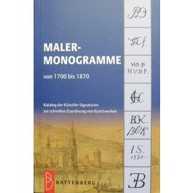 Battenberg Maler-Monogramme von 1700 bis 1870
