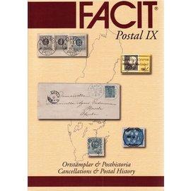 Facit Postal IX - Ortstämplar & Posthistoria