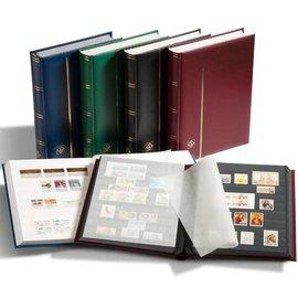 Leuchtturm stockbook Comfort S 64 red