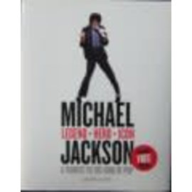 HarperCollins Michael Jackson · Legend · Hero · Icon