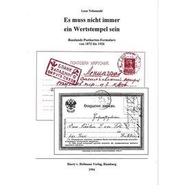 Hofmann Es muss nicht immer ein Wertstempel sein: Russlands Postkarten-Formulare von 1872 bis 1926