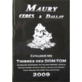 Maury Franse Gebiete DOM/TOM 2009