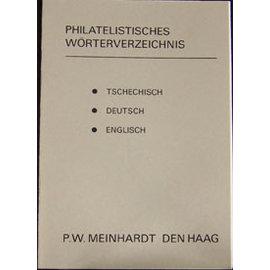 Meinhardt Philatelistisches Wörterbuch Tschechisch/Deutsch/Englisch