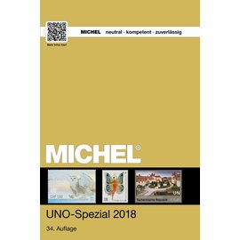 Michel UNO-Spezial-Katalog 2018 - UN Specialized Catalogue 2018