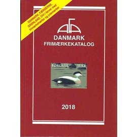 AFA Danmark Frimaerkekatalog 2018