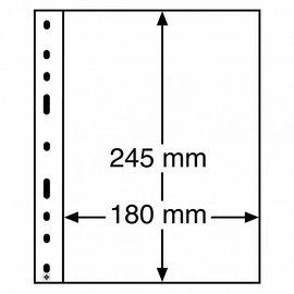 Leuchtturm plastic pockets Optima 1 C - set of 10