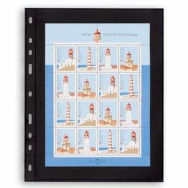 Leuchtturm plastic pockets Optima 1 S -  set of 10