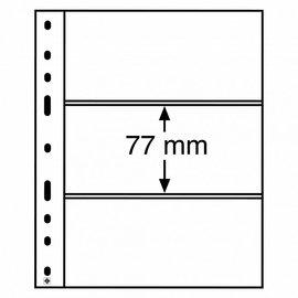 Leuchtturm plastic pockets Optima 3 C - set of 10