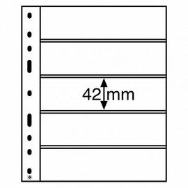 Leuchtturm Kunststoffhüllen Optima 5 S - 10 Stück