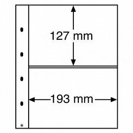 Leuchtturm Kunststoffhüllen Optima XL 2 S - 10 Stück