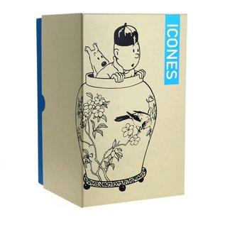 moulinsart Kuifje Iconen - De Chinese vaas