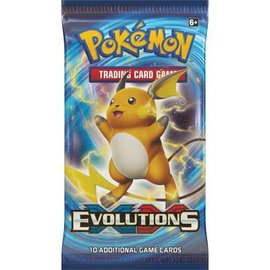 Pokemon Evolutions boosterpack