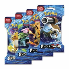 Pokemon Evolutions sleeved boosterpack